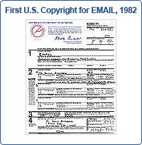 Dr. E-Mail: V. A. Shiva Ayyadurai, Inventor of Email: First US Copyright for EMAIL, 1982