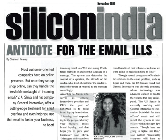 Silicon India: Antidote For The E-Mail Ills