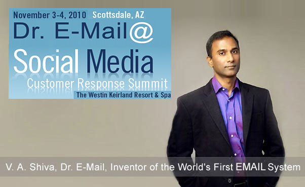 V. A. Shiva Ayyadurai, Dr. E-Mail, Inventor of the World's First E-Mail System